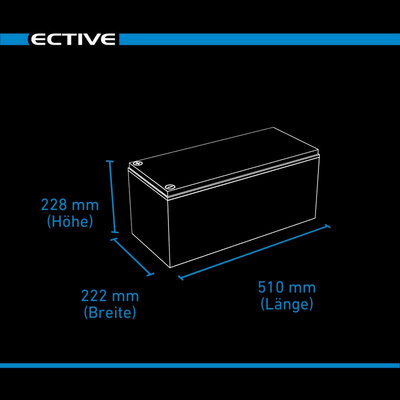 ECTIVE DC 180 Gel 180 Ah