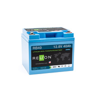 RELion RB40 12V 40Ah Lithium Deep Cycle Batterie mit BMS
