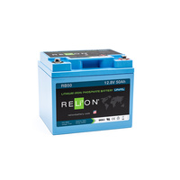 RELion RB50 12V 50Ah Lithium Deep Cycle Batterie mit BMS