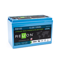 RELion RB100 12V 100Ah Lithium Deep Cycle Batterie mit BMS